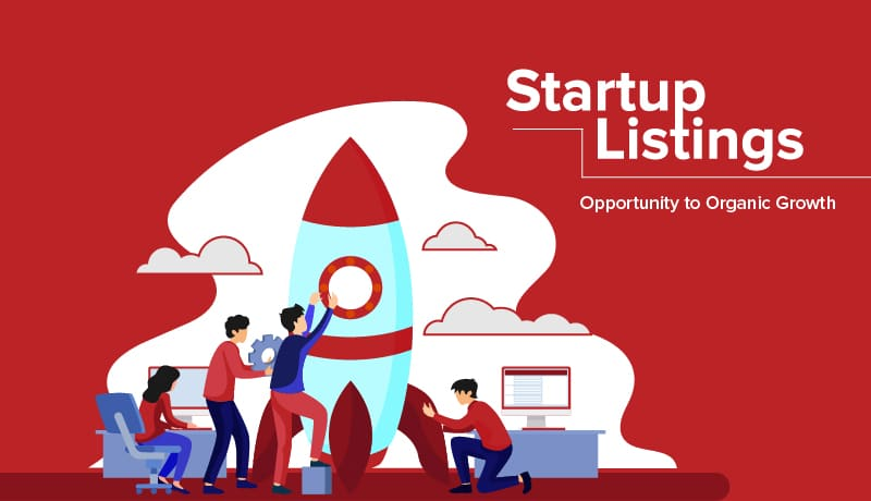 Start-up listing – Opportunity to Organic Growth