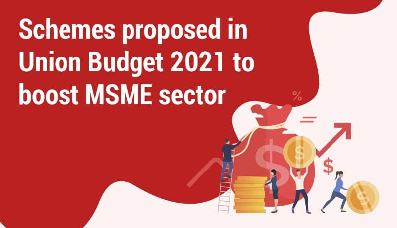 Schemes Proposed In Union Budget 2021 To Boost MSME Sector