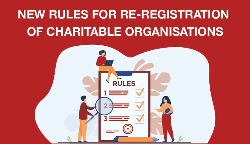 charity re-registration rules