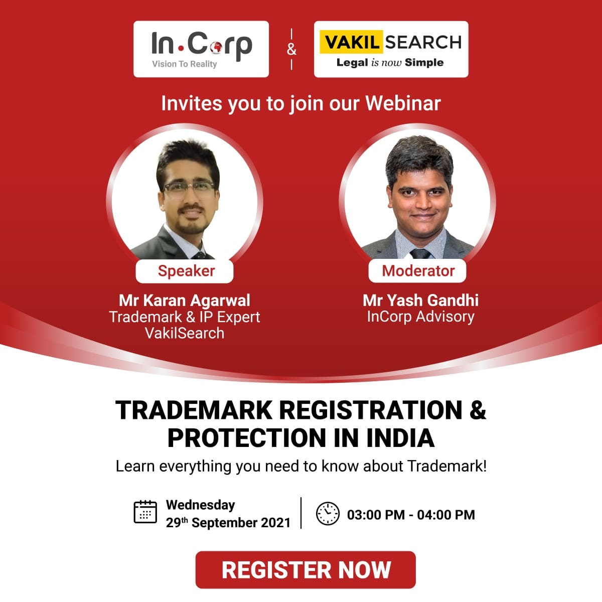 Trademark Registration Protection in India banner